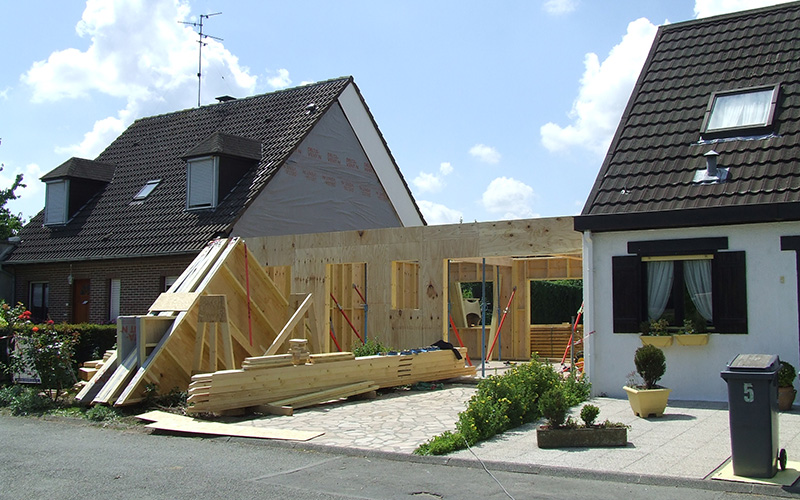 Galerie photo alternative bois concept for Constructeur de maison en bois dans le 71