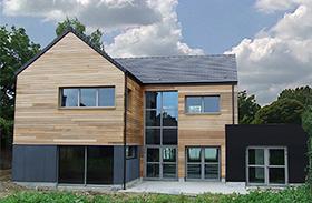 nos r alisations ossature bois dans le nord pas de calais. Black Bedroom Furniture Sets. Home Design Ideas