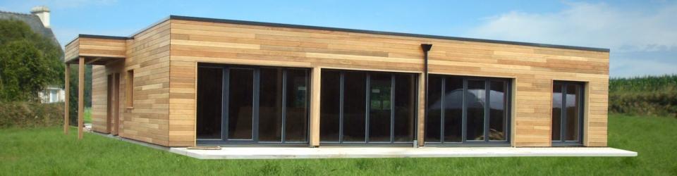 maison cubique bois nord