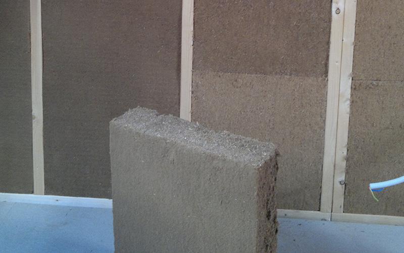 isolation mur ossature bois en laine de bois houdain. Black Bedroom Furniture Sets. Home Design Ideas