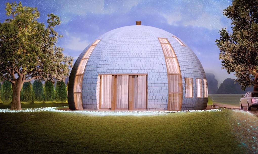L tonnant igloo russe en bois alternative bois concept for Maison dome en bois