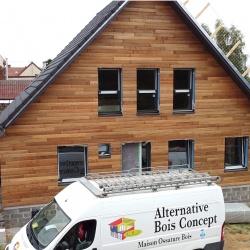 construction maison bioclimatique à Athies