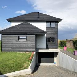 Réalisation maison ossature bois dans le Nord Pas-de-Calais