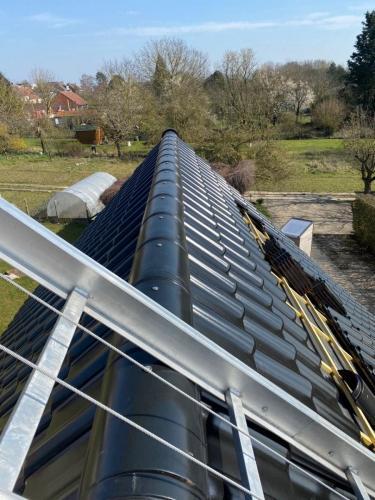 Réalisation d'une toiture à Athies dans le Nord Pas-de-Calais