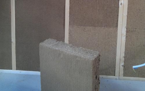 isolation mur ossature bois en laine de bois houdain