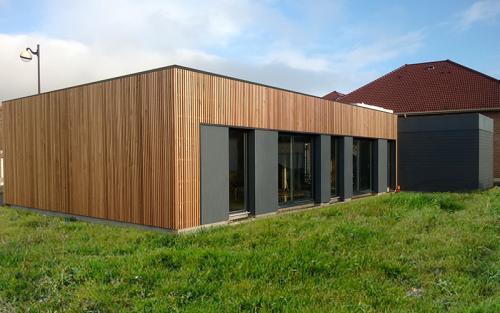 maison bois cubique lillers