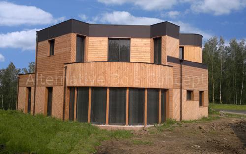 maison bois d#039;architecte carvin
