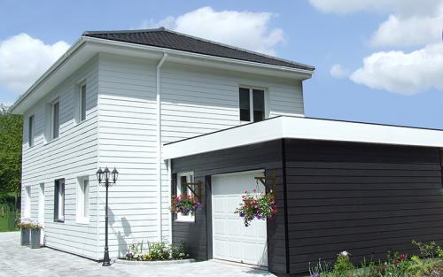 maison ossature bois Bethune bardage composite
