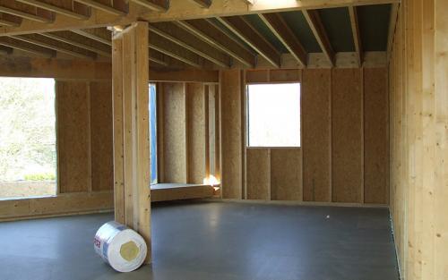 mur et plancher bois wingles